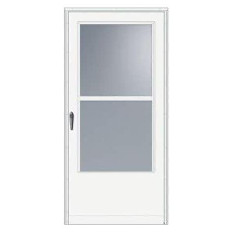 emco 100 series 32 inch self storing door from home