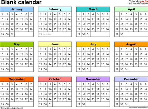 printable blank calendar template yearly calendar printable 2018 calendar with holidays