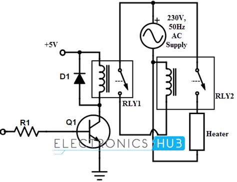 electromechanical relay schematic get free image about