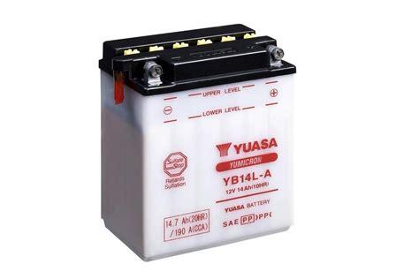 Motorrad Batterie Erhaltungsladeger T Test by Yb14l A Motorrad Powersport Alle Anzeigen Batterien