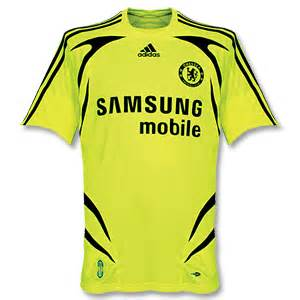 Chelsea Away 2007 chelsea football shirt archive