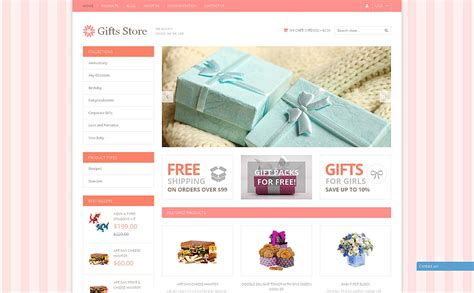 shopify gift card template gifts store responsive shopify theme 49590