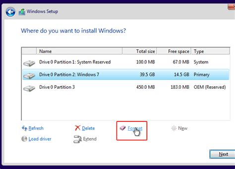 how to format hard disk without os how to install window 7 without formatting my d drive
