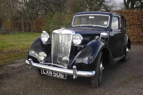 Car Types Saloon by 1951 Mg Y Type Saloon Exceptional Exle Vintage