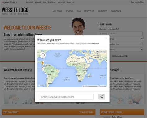 themes wordpress location wordpress jobs board theme premiumpress themes