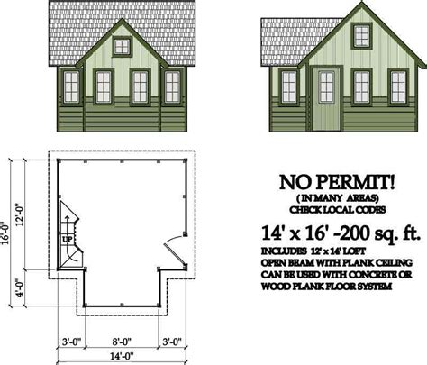 200 square foot house plans evolving sub 200 sq ft cabin shed