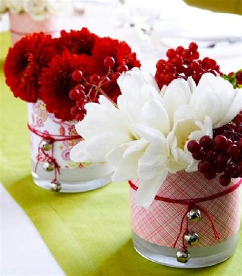beautiful christmas table decorations pink lover