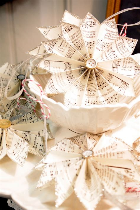 paper christmas decorations to make at home christmas centerpieces