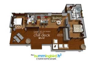 Hummingbird H3 House Plans by Hummingbird H2 3973 2 Bedrooms And 2 5 Baths The House