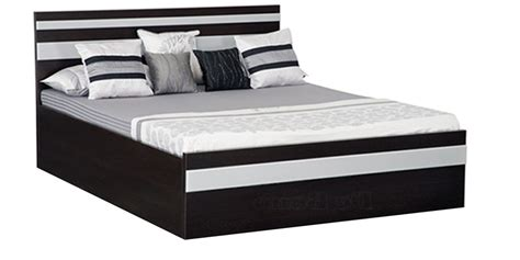 bed with box buy bed with box storage in wenge matt