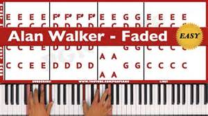 Lyrics Turning Tables How To Play Faded Alan Walker Piano Tutorial Easy Youtube