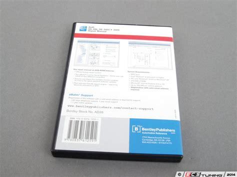 audi a8 a8l s8 2004 2009 repair manual dvd rom bentley ad35 robert bentley repair service manual on cd