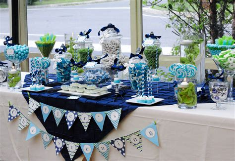 Blue And Green Candy Tables Cw Distinctive Designs Blue And Green Buffet