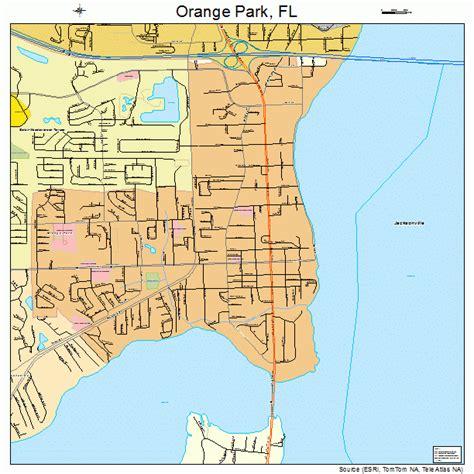 orange map orange park florida map 1252125