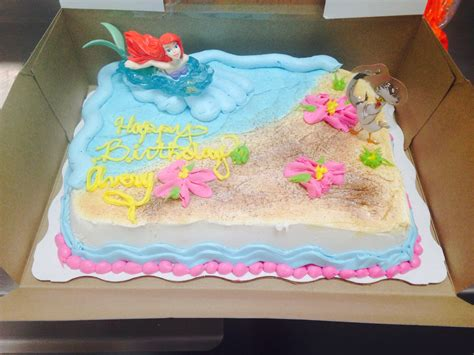 Decorated Birthday Cakes At Walmart by Ariel Cake Walmart Cakes Walmart Sheet Cake Lizzy S