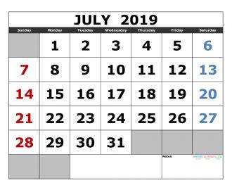 printable august  calendar template landscape format  printable  monthly calendar