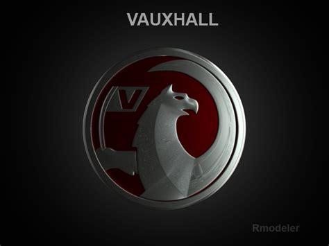 vauxhall logo vauxhall 3d logo 3d model