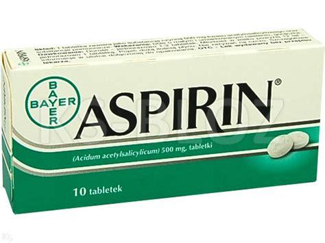 Cardio Aspirin 10 aspirin 300 ulotka dawkowanie zastosowanie interakcje
