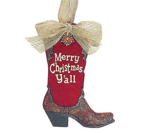 merry christmas yall wall hanging western boot christmas hanger boot door hanger