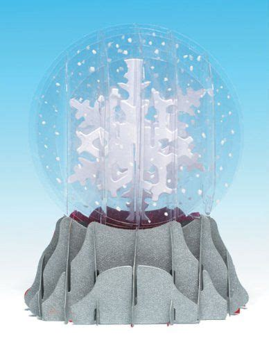 pop up snow globe card template 35 best snow globes images on snow globe snow
