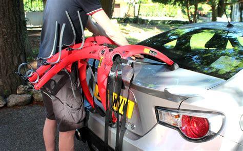 Saris Bike Rack Reviews by Saris Bones 3 Bike Car Rack Review Road Cycling Uk