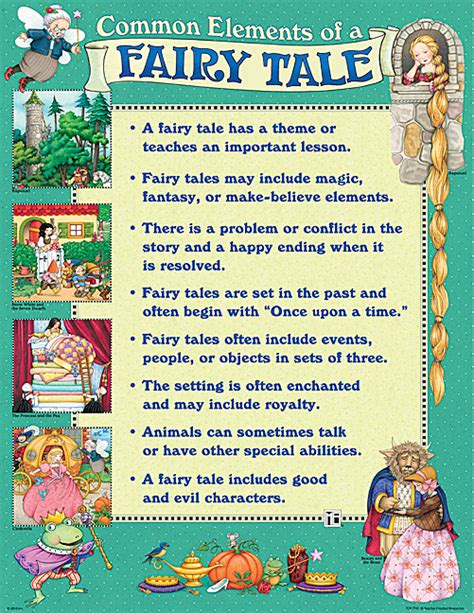 a tale for the me common elements of a fairy tale chart tcr7741 teacher created resources