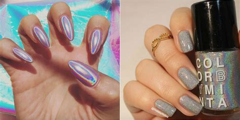 Nail For by Holographic Nails Are Instagram S Obsession