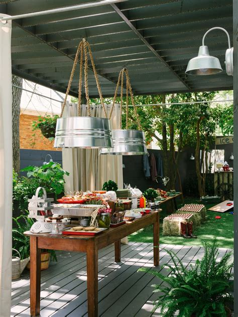 backyard party decorating ideas how to host a backyard barbecue wedding shower