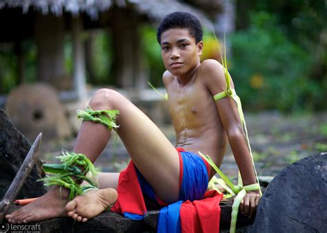 Yap Micronesia Warrior Boy | yap culture ron lussier lenscraft