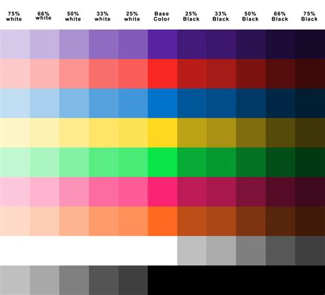 color selection color chart for plasti dip quot create your own kit quot sold at crown ace hardware www crownace com