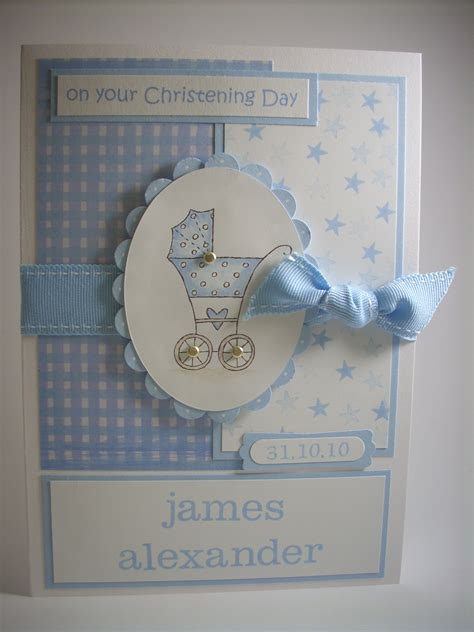 how to make a baby card christening wishes by gilly