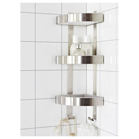 Bathroom Shower Shelving Bathroom Corner Shelves Chrome Shelves