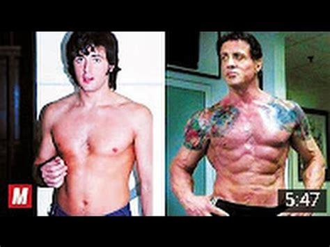 arnold schwarzenegger sylvester stallone at 70 sylvester stallone from 7 to 70 years