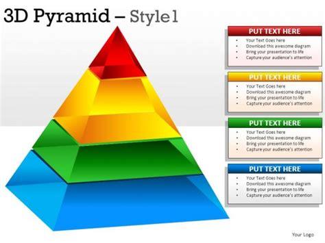 3d Pyramid Style 1 Powerpoint Presentation Slides 3d Powerpoint Presentation Templates 2