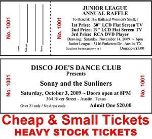cheap printable event tickets 500 raffle event door admission tickets cheap small custom