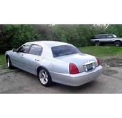 2001 Lincoln Town Car Former Funeral Lead With Custom