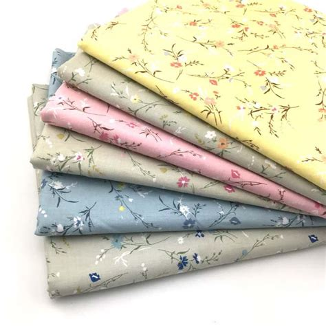 diy printable fabric sheets flower printed cotton fabrics textile for bedding sheet