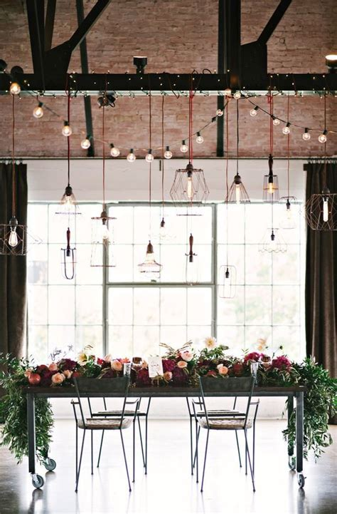 Industrial Wedding Decor by Best 25 Industrial Wedding Decor Ideas On