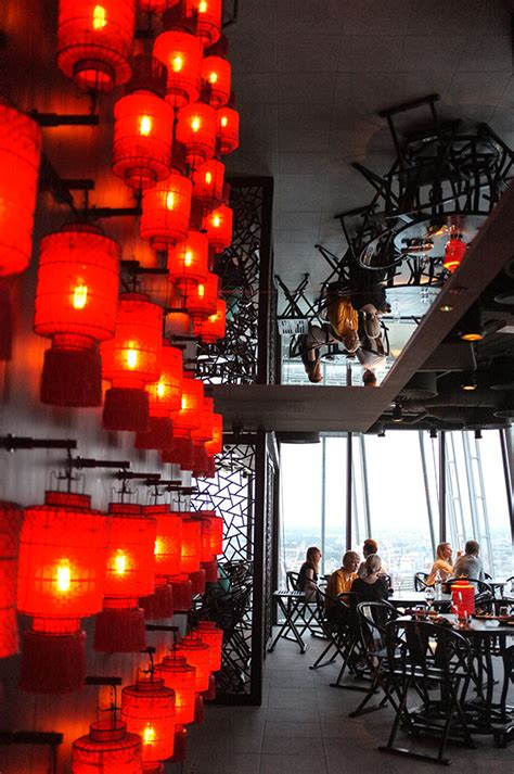 Aqua Shard Dining Room by Dining Rooms With A View Aqua Shard And Hutong