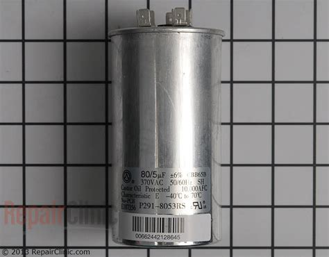payne heat capacitor carrier heat capacitor replacement 28 images carrier p291 8053rs 80 5 uf mfd x 370 vac