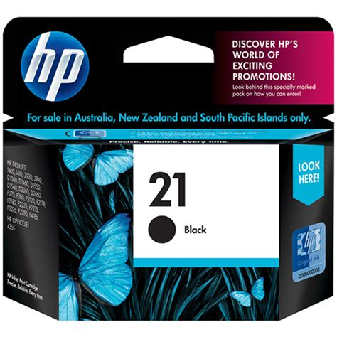 Tinta Hp 21 Black By Inksupplier hp ink cartridge 21 black