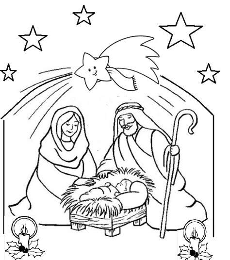 candela natalizia da colorare presepe di natale da colorare oggi mamma news
