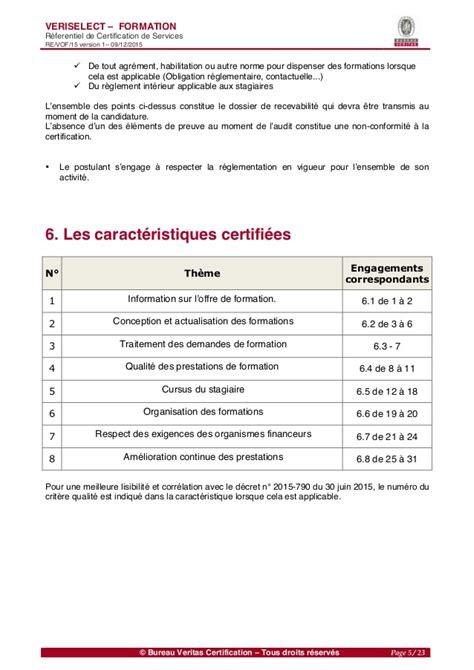 bureau veritas formation qualit 233 de la formation r 233 f 233 rentiel bureau veritas