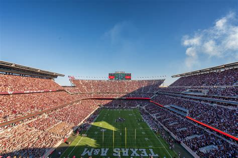 Beautifully Designed photos of a lifetime kyle field re opening at texas a amp m