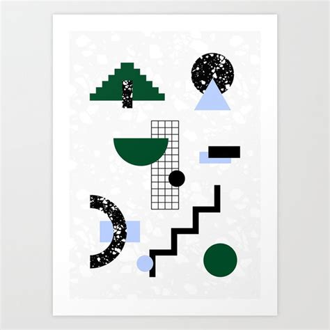 design milk society6 seeing shapes in terrazzo with society6 design milk