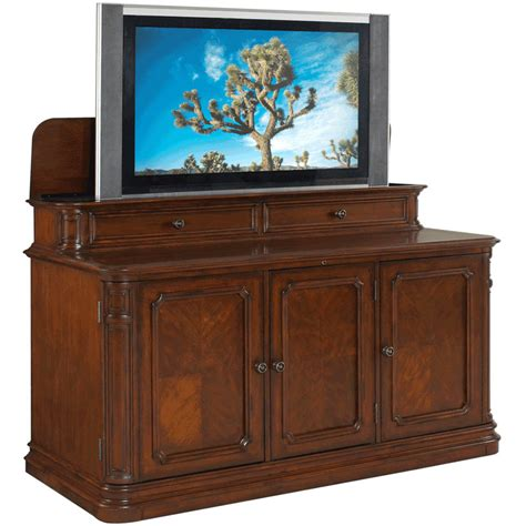 Cabinet For 60 Inch Tv by Tv Lift Cabinet Banyan Creek Lift For 40 60 Inch Screens