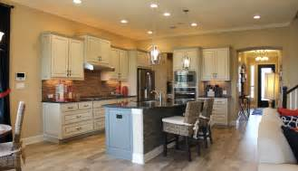 Bone Color Kitchen Cabinets How To Choose Flooring That Compliments Cabinet Color Burrows Cabinets Central Builder