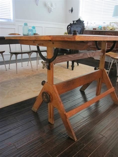 diy drafting table plans  woodworking
