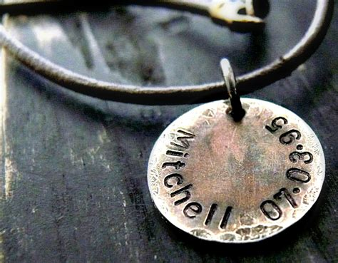 mens personalized jewelry mens personalized necklace mens personalized necklace mens