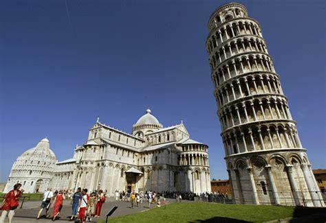 Menara Pisa leaning tower of pisa is now 50cm straighter constructionweekonline